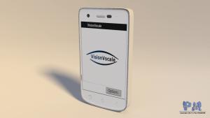 Visuel 3D de l'application VisionVocale