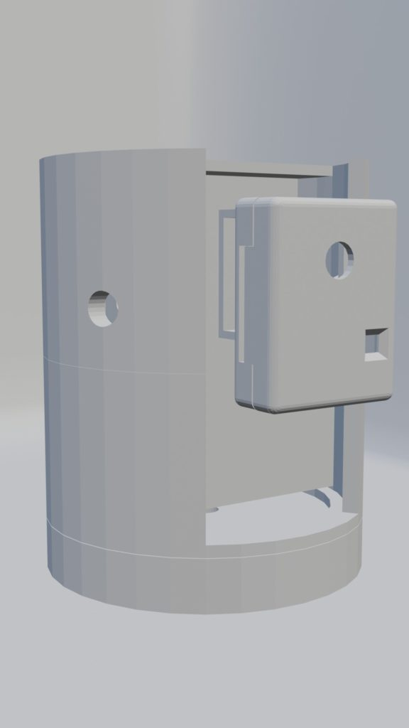Station motorisée pour ESP32cam